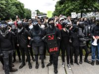 Violent Antifa Protests Break Out in Portland