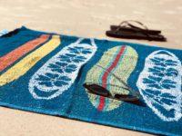 beach towel surf beach