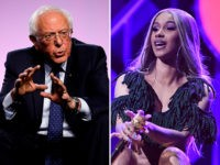bernie-sanders-cardi-b-sitting-getty