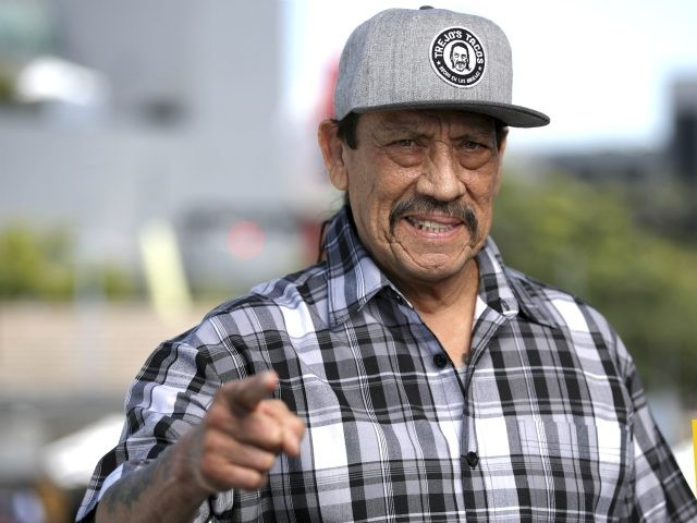 Actor Danny Trejo rescues child trapped in overturned auto