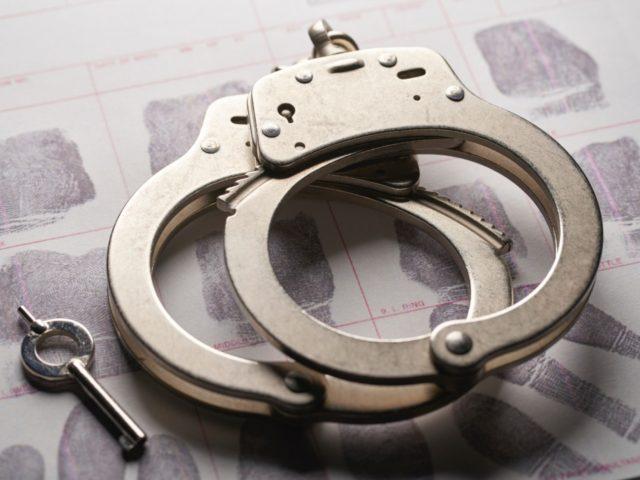 handcuffs jail prisoner