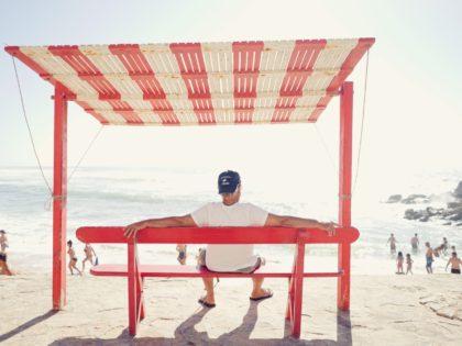 summer heat beach