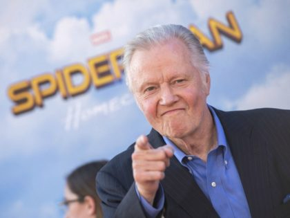 """Actor Jon Voigt attends the world premiere of """"Spider-man: Homecoming"""" at the TCL Chinese Theater on June 28, 2017 in Hollywood, California. / AFP PHOTO / VALERIE MACON (Photo credit should read VALERIE MACON/AFP/Getty Images)"""