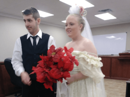 Reports said newlyweds Harley Morgan, 19, and Rhiannon Boudreaux, 20, were merging onto Highway 87 when a pickup truck towing a tractor-trailer collided with their vehicle.