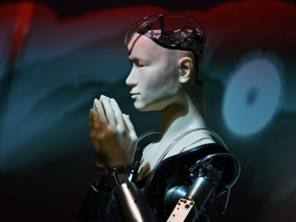 robot buddhist priest in Japan