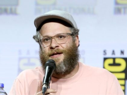 SAN DIEGO, CALIFORNIA - JULY 19: Seth Rogen attends the Preacher Panel at Comic Con 2019 on July 19, 2019 in San Diego, California. (Photo by Jesse Grant/Getty Images for AMC)