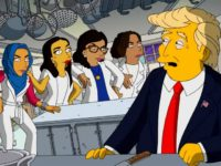 Squad Torment Trump in 'Simpsons' Video