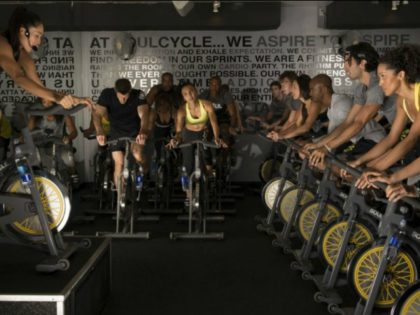 soul cycle studio class (Courtesy of SoulCycle)