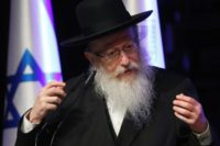 Israeli Deputy Health Minister Yaakov Litzman heads the United Torah Judaism political alliance