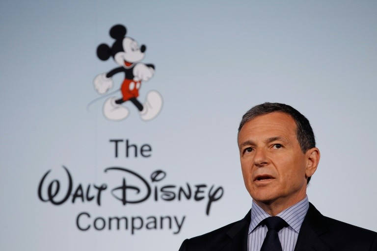"""Walt Disney Company Chairman and CEO Bob Iger said Disney was """"focused on leveraging Fox's vast library of great titles"""""""