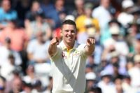 Hazlewood takes five as England slump to 67 all out in third Ashes Test