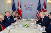 Iran Foreign Minister in Dramatic Visit to G7 Summit