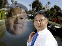 In this Thursday, May 3, 2018, photo, U.S. Rep. Ted Lieu, D-California, poses for a picture in the Venice community of Los Angeles. Members of the Asian-American community are running for federal office from all corners of the country, dozens of them as Democratic candidates deliberately playing up their Asian …