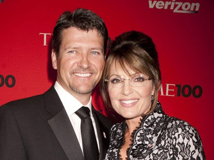 Sarah Palin and husband Todd Palin at Time's 100 most influential people in the world gala at Frederick P. Rose Hall, Jazz at Lincoln Center in New York City. May 4, 2010.. Credit: Dennis Van Tine/MediaPunch /IPX
