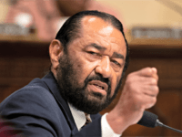 "House Subcommittee on Intelligence and Counterterrorism member Rep. Al Green, D-Texas, speaks during a hearing on ""meeting the challenge of white nationalist terrorism at home and abroad"" on Capitol Hill in Washington, Wednesday, Sept. 18, 2019. (AP Photo/Manuel Balce Ceneta)"