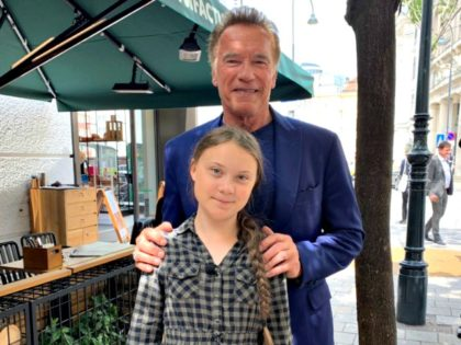 Reunited: Arnold Schwarzenegger Shares Cycle Ride with 'Friend and Hero' Greta Thunberg