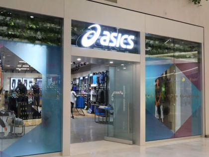BLOOMINGTON, MN - AUGUST 18: General view of the ASICS store at Mall of America on August 18, 2017 in Bloomington, Minnesota. (Photo by Adam Bettcher/Getty Images for ASICS)