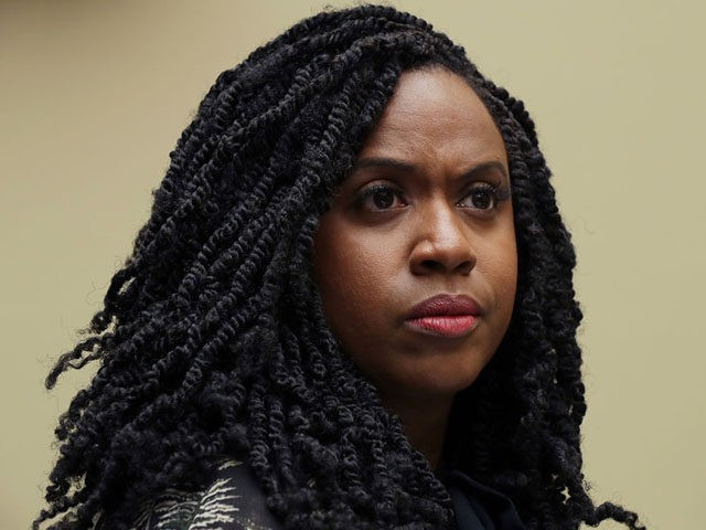 WASHINGTON, DC - JULY 26: House Oversight and Government Reform Committee member Rep. Ayanna Pressley (D-MA) attends a hearing on drug pricing in the Rayburn House Office building on Capitol Hill July 26, 2019 in Washington, DC. As a member of a group of four freshman Democratic women of color, …