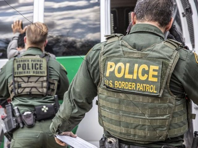 Grand Forks Sector Border Patrol agents arrest a pair of Mexican migrants after they illegally crossed the Canadian border. (Photo: U.S. Border Patrol/Grand Forks Sector)