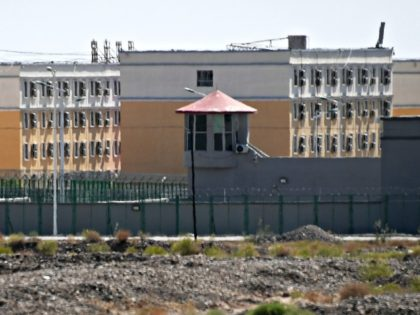 This photo taken on June 2, 2019 shows buildings at the Artux City Vocational Skills Education Training Service Center, believed to be a re-education camp where mostly Muslim ethnic minorities are detained, north of Kashgar in China's northwestern Xinjiang region. - As many as one million ethnic Uighurs and other …