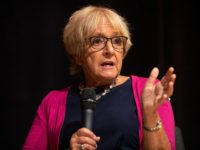 LONDON, ENGLAND - SEPTEMBER 02: Labour MP Dame Margaret Hodge speaks during the 'Jewish Labour Movement Conference' on September 2, 2018 in London, England. (Photo by Dan Kitwood/Getty Images)