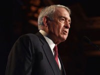 NEW YORK, NY - NOVEMBER 30: Dan Rather speaks onstage at the 25th IFP Gotham Independent Film Awards co-sponsored by FIJI Water at Cipriani, Wall Street on November 30, 2015 in New York City. (Photo by Larry Busacca/Getty Images for IFP)