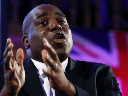 Labour's Lammy Hails Song Lyrics Describing White 'Shame', 'Evil Ancestry'