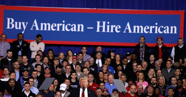Donald Trump buy American 640x335 - U.S. Economy Created 225,000 Jobs in January