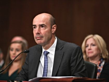 WASHINGTON, DC - SEPTEMBER 19: Eugene Scalia attends his confirmation hearing to become the next U.S. Labor Secretary in front of the the U.S. Senate Committee on Health, Education, Labor and Pensions (HELP) on September 19, 2019 in Washington, DC. Scalia, son of late Supreme Court Justice Antonin Scalia is …