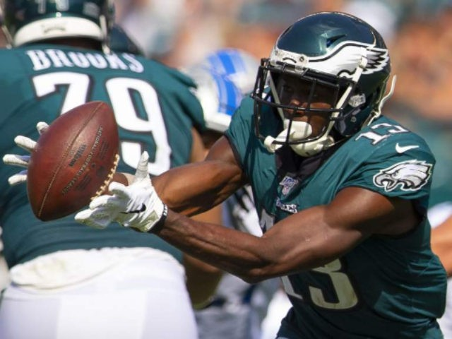 Eagles fan rips Nelson Agholor after saving people in fire