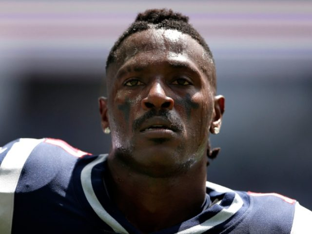 New England Patriots' Antonio Brown dropped by Nike