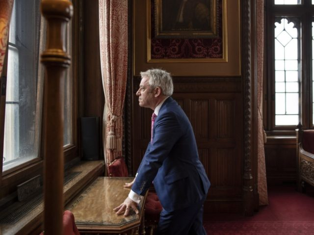 LONDON, ENGLAND - MAY 24: British politician, John Bercow MP, Speaker of the House of Commons poses for a portrait inside the House of Commons on May 24, 2019 in London, England. (Photo by Dan Kitwood/Getty Images)