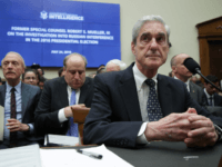 Former Special Counsel Robert Mueller testifies before the House Intelligence Committee about his report on Russian interference in the 2016 presidential election in the Rayburn House Office Building July 24, 2019 in Washington, DC. Mueller testified earlier in the day before the House Judiciary Committee in back-to-back hearings on Capitol …