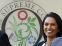 Anti-Brexit campaigner Gina Miller leaves the Supreme Court in central London, on the second day of the hearing into the decision by the government to prorogue parliament on September 18, 2019. - Prime Minister Boris Johnson's lawyer told Britain's Supreme Court on Wednesday that it was not for judges to …