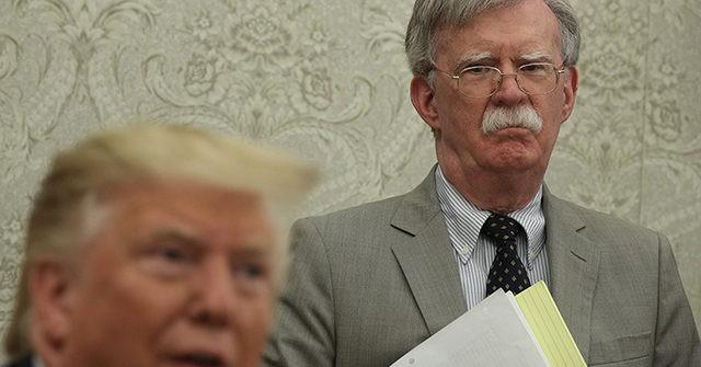 Trump Says He Has Fired John Bolton as National Security Advisor
