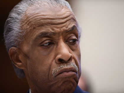 WASHINGTON, DC - SEPTEMBER 19: Rev. Al Sharpton attends a hearing before the House Judiciary Committee on policing practices in the United States on September 19, 2019 in Washington, DC. Among the witnesses was also Gwen Carr, mother of Eric Garner. (Photo by Astrid Riecken/Getty Images)