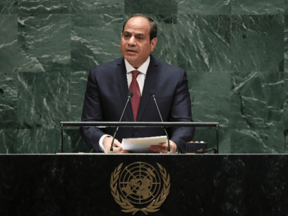 President of Egypt Abdel Fattah el-Sisi addresses the United Nations General Assembly at UN headquarters on September 24, 2019 in New York City. World leaders from across the globe are gathered at the 74th session of the UN General Assembly, amid crises ranging from climate change to possible conflict between …