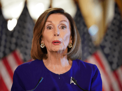 US Speaker of the House Nancy Pelosi, Democrat of California, announces a formal impeachment inquiry of US President Donald Trump on September 24, 2019, in Washington, DC. - Amid mounting allegations of abuse of power by the US president, Pelosi announced the start of the inquiry in the House of …