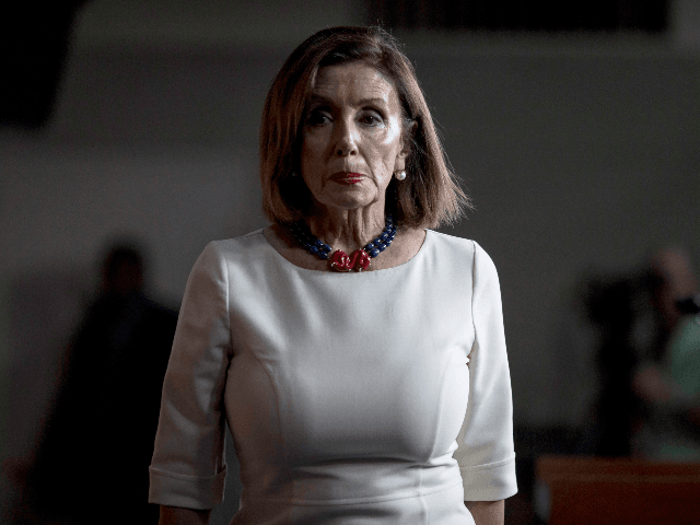 U.S. House Speaker Nancy Pelosi (D-CA) speaks during a weekly news conference on Capitol Hill on September 26, 2019 in Washington, DC. Pelosi discussed her announcement yesterday to begin a formal impeachment inquiry into President Donald Trump. (Photo by Zach Gibson/Getty Images)