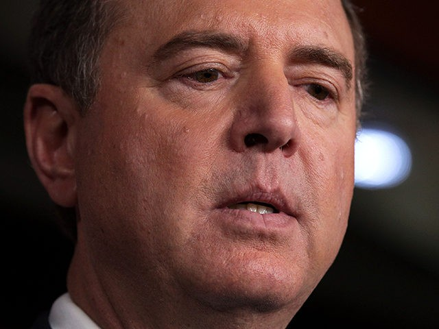 WASHINGTON, DC - SEPTEMBER 25: U.S. Rep. Adam Schiff (D-CA), chairman of the House Intelligence Committee, speaks during a news conference at the U.S. Capitol September 25, 2019 in Washington, DC. Rep. Schiff held a news conference to discuss the telephone conversation between U.S. President Donald Trump and Ukrainian President …