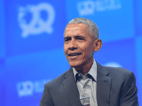 "Former U.S. President Barack Obama speaks at the opening of the Bits & Pretzels meetup on September 29, 2019 in Munich, Germany. The annual event brings together founders and startups from across the globe for three days of networking, talks and inspiration. during the ""Bits & Pretzels Founders Festival"" at …"