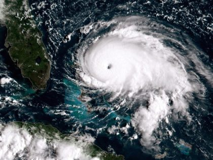 Hurricane Dorian (NOAA via Getty)