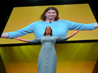 Liberal Democrat leader Jo Swinson gives a keynote speech at the Liberal Democrat party conference in Bournemouth on September 17, 2019. (Photo by Ben STANSALL / AFP) (Photo credit should read BEN STANSALL/AFP/Getty Images)
