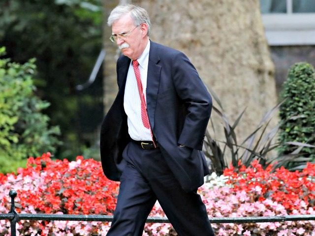 John Bolton Walks Away