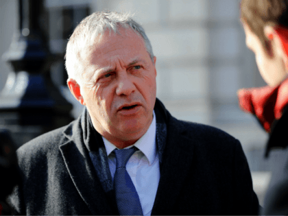 Labour MP John Mann reacts as he leaves the Cabinet Office on Whitehall, in central London on January 31, 2019. - Britain may need to delay Brexit to pass legislation to implement the split with the European Union, Foreign Secretary Jeremy Hunt said Thursday. As the March 29 withdrawal date …