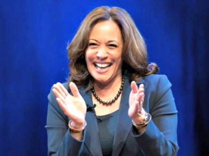 Kamala_Harris Laughs, Applauds