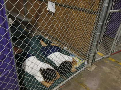 Kids in Cages (AP Photo/Ross D. Franklin, Pool, File)