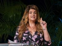 NEW YORK, NY - JUNE 07: Kirstie Alley hosts the 2012 Book Expo America: Adult Book & Author Breakfast at Jacob K. Javits Convention Center on June 7, 2012 in New York City. (Photo by D Dipasupil/Getty Images)