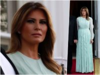 Fashion Notes: Melania Trump Is Shades of Cool for U.S.-Australia State Dinner