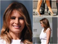 Fashion Notes: Melania Trump Helps Reopen Washington Monument in Prada